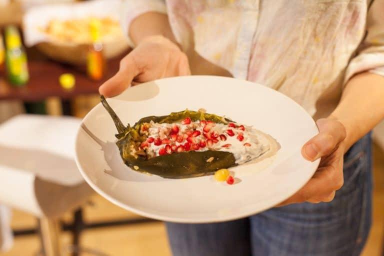 Kosher-Style Chiles en Nogada