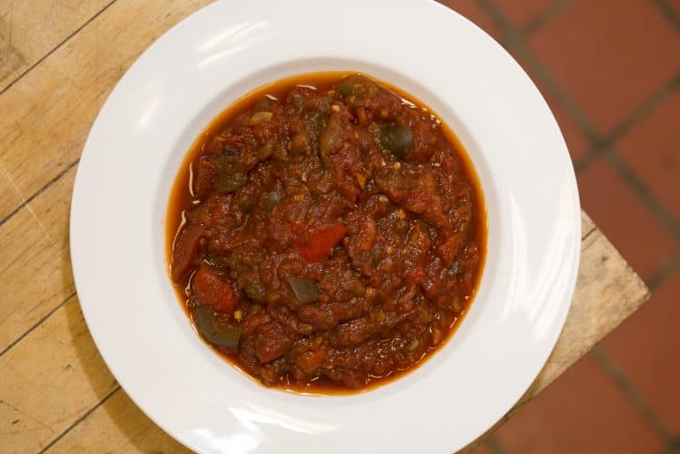 Salade Cuite (Moroccan Matbucha)