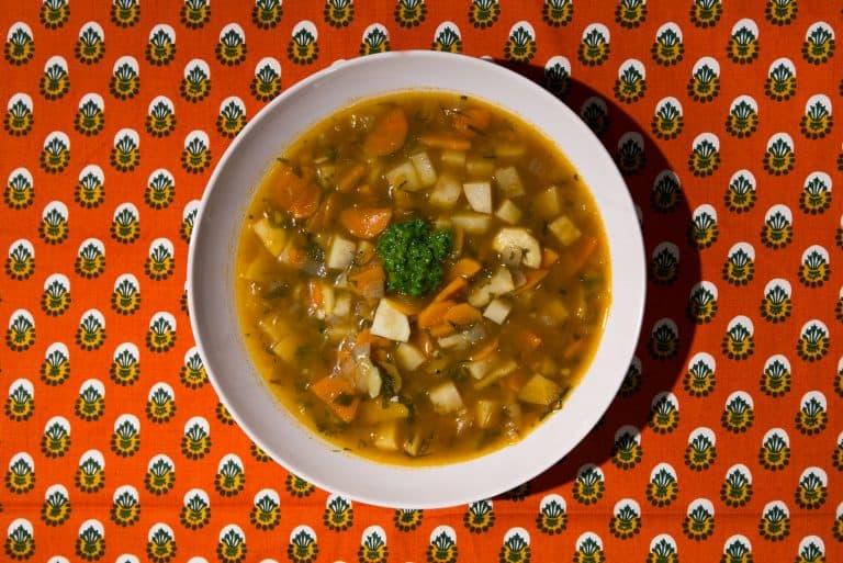 Yemenite Vegetable Soup With Hawaij