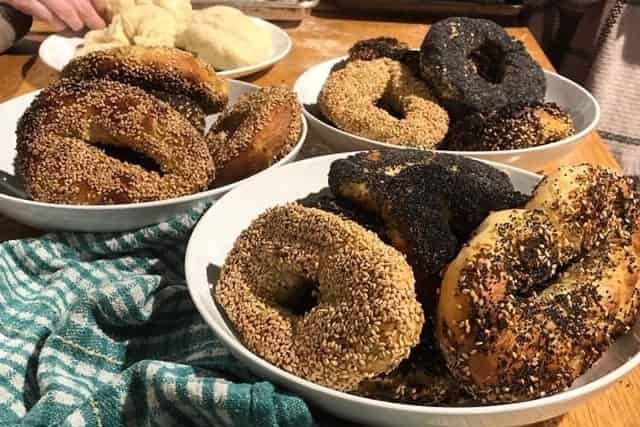 Virtual Montreal Bagel Cooking Class
