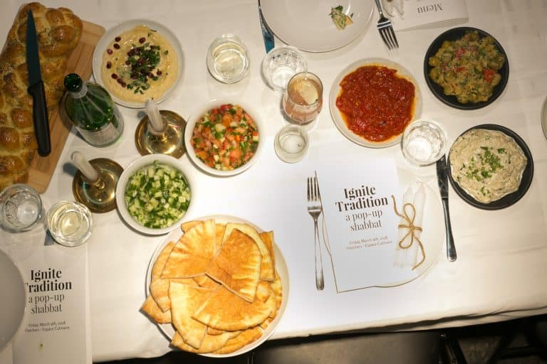 Ignite Tradition: A Pop-up Shabbat Dinner