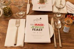 An Iraqi-Jewish Feast