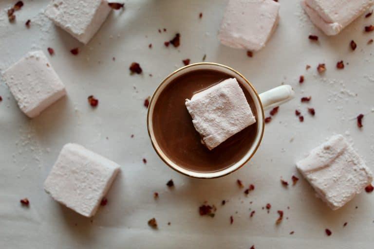 Rosewater & Cardamom Hot Chocolate
